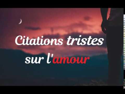 Citations Et Phrases Tristes Sur L Amour Youtube