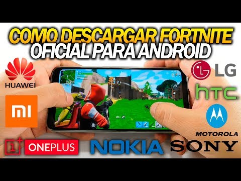 COMO DESCARGAR/INSTALAR FORTNITE PARA ANDROID OFICIAL (BETA)