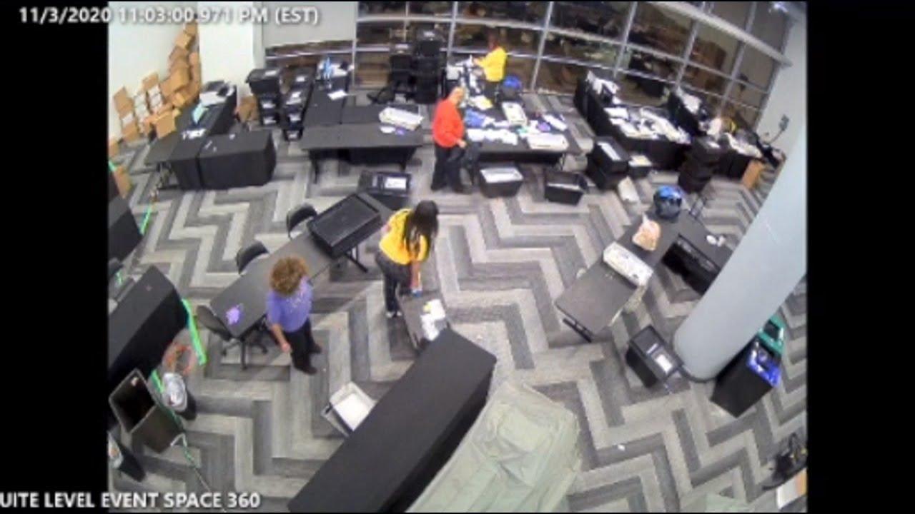Republicans tender new CCTV footage to Georgia Senate Judiciary Subcommittee