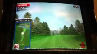 arcade game golden tee golf simulator arcade game