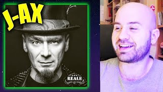 Gambar cover J-AX - REALE REACTION ALBUM COMPLETO