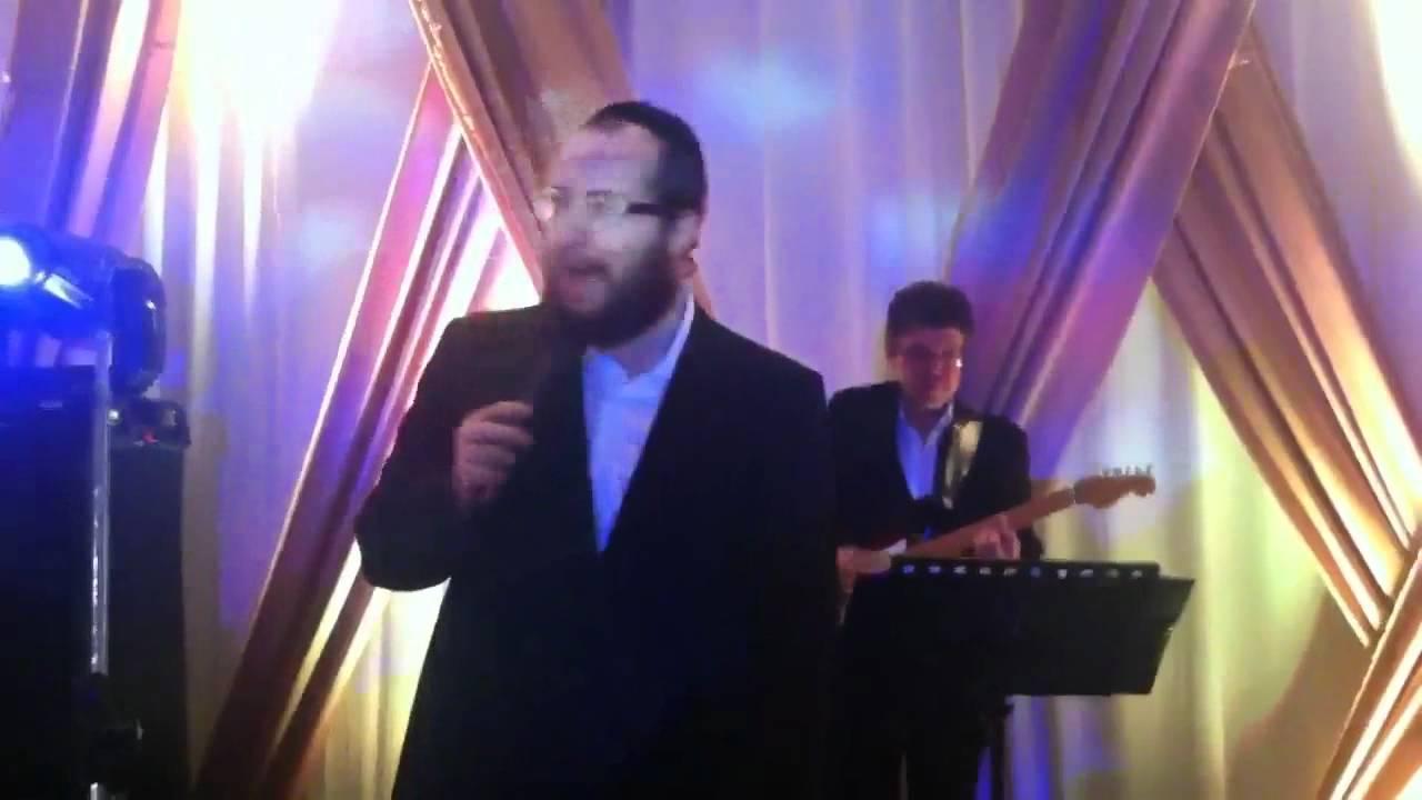 boda judía en México - Shragy Gestetner at Wedding in Mexico