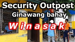 OutPost Ginawang Bahay At Kusina Barangay Caniogan Pasig City Clearing Operation 2019..