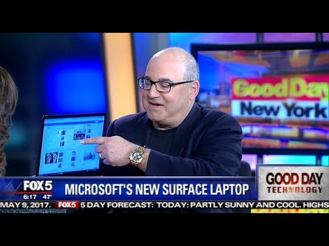 Microsoft Surface Laptop Review | Shelly Palmer on Fox 5