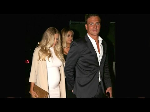 Ryan Lochte Jokes About Baby Names With Pregnant Fiancee Kayla Rae Reid