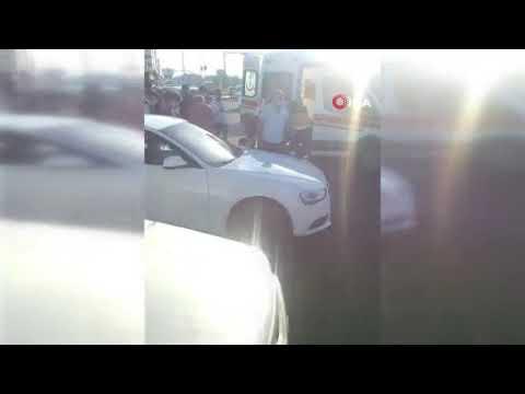 Şoför kapıyı açık bıraktı, yolcu araçtan düştü