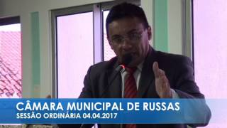 Amarílio Ribeiro - Pronunciamento 04 04 217