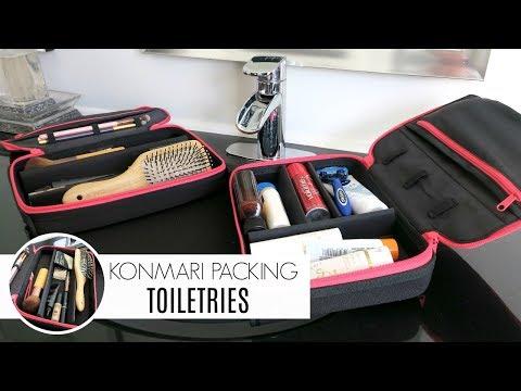 KonMari Organization | Packing Toiletries Using the ORGO