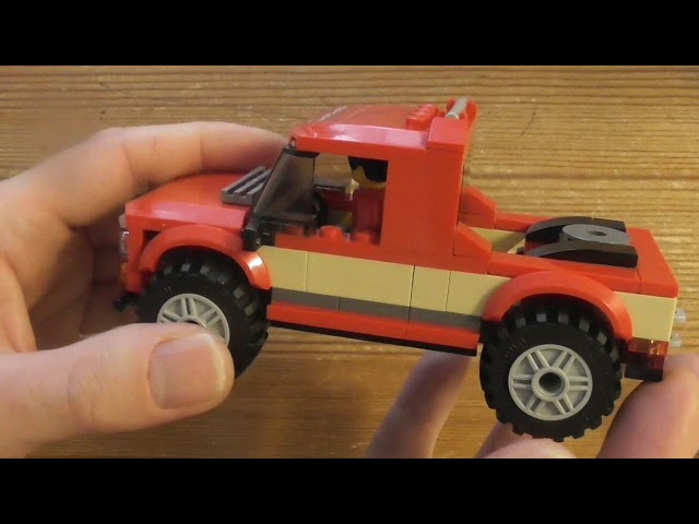 Building Lego City Pickup & Caravan SET 60182