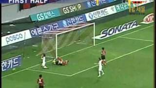 SONATA KLEAGUE 2010 18R FCSEOUL VS GANGWON HIGHLIGHT