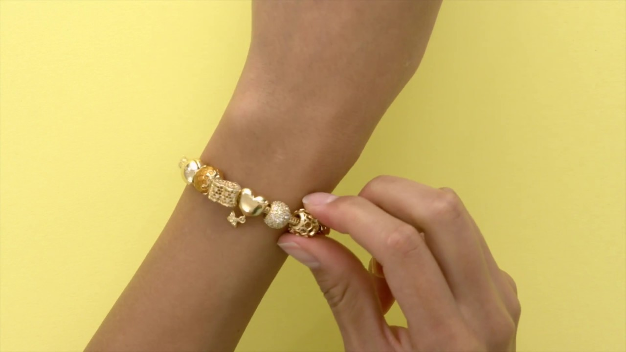 7ccc27c00 Introducing the Moments Sliding Bracelet by Pandora - YouTube