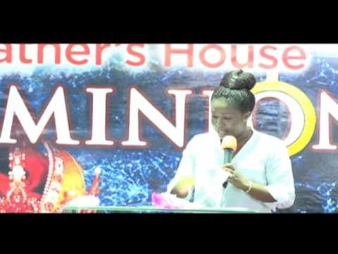 YOUTH IN ENTREPRENEURSHIP WITH MRS AWURA OFORI-ATTA @ MY FATHERS HOUSE