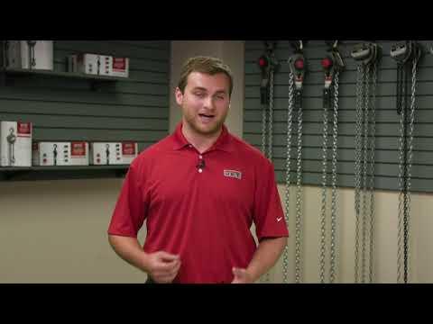 JET Hoist Safety Training, Pacific Rigging Loft, Inc. Chain Hoist, Lever Hoist
