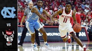 UNC vs NC State Basketball Highlights (2018-19)