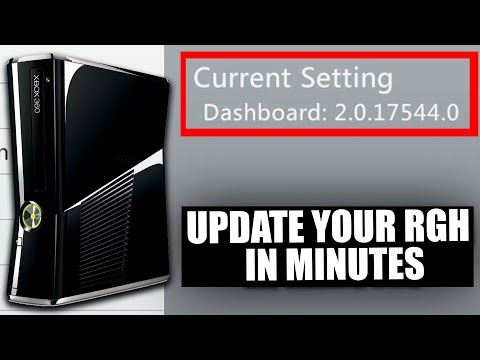 How To Update Your RGH To New Dashboard (17544) Best Easy Tutorial