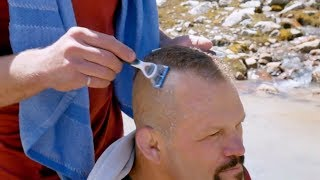 Giving Chuck Liddell A Haircut (Ultimate Expedition)