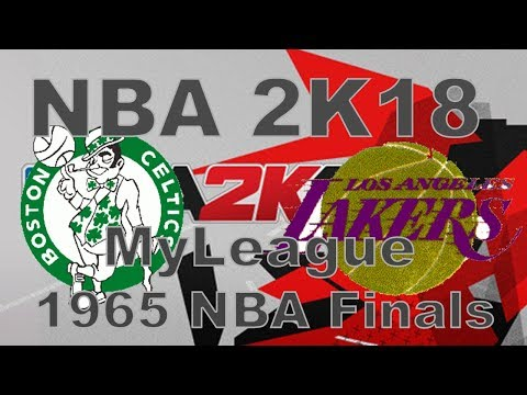 NBA 2K18 MyLeague, 1964-65: The NBA Finals: Lakers vs. Celtics