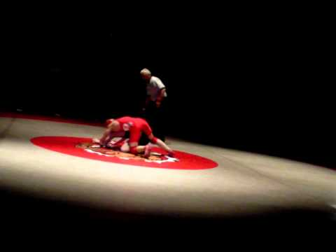 Bountiful High School Wrestling 2012 vs Clearfield High School Match 7