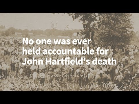 Lynching in America: John Hartfield