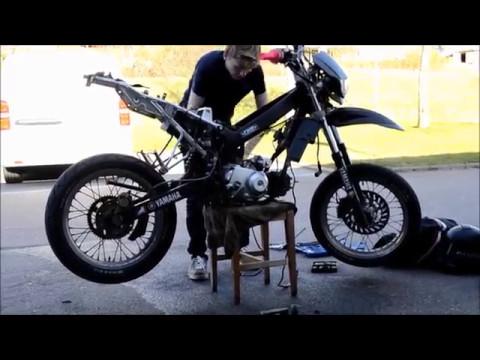 Fiddymotor i Yamaha DT50 Projekt Del 1