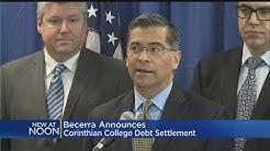 California AG Announces $67M Settlement With Corinthian Colleges