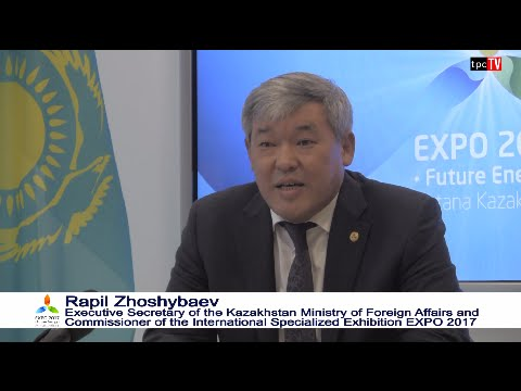 Expo 2017 Kazakhstan press presentation oct 31 2015