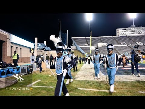 Jackson State University Ft. The Prancing J-Settes - Marching Out Vs ASU - 2019