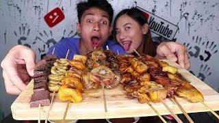 Filipino BBQ Mukbang