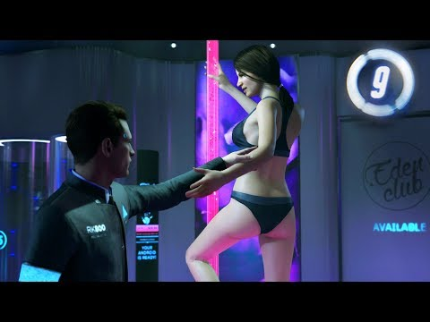 Detroit: Become Human - Part 9 - STRIP CLUB from YouTube · Duration:  33 minutes 38 seconds