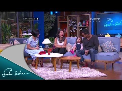 Menurut Mieke Amalia, Tora Sudiro sosok Ayah yang Tidak Galak pada Anak