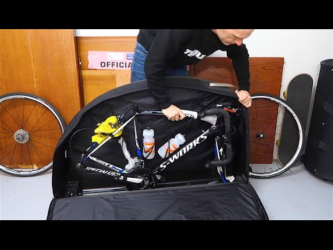 Packing a bike for air travel (Flying with a road bicycle)