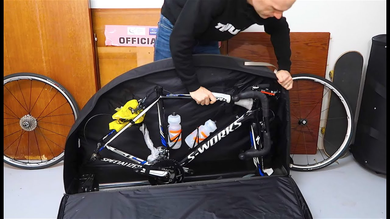 Packing A Bicycle For Air Travel Thule Roundtrip Pro