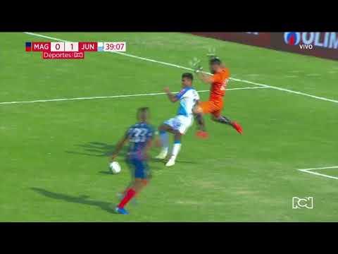 Unión Magdalena 0-1 Junior: Gol Germán Gutiérrez I Deportes RCN