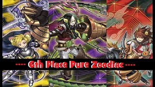 YGO!!!! 6th Place Pure Zoodiac Danbury,CT Regional