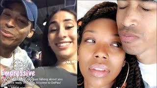 Brandy puts Sir the Baptist on blast for cheating on her SMH!