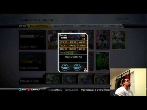 Madden 25 Ultimate Team | GHOST 99 THURMAN THOMAS | THE THURMANATOR | MUT 25