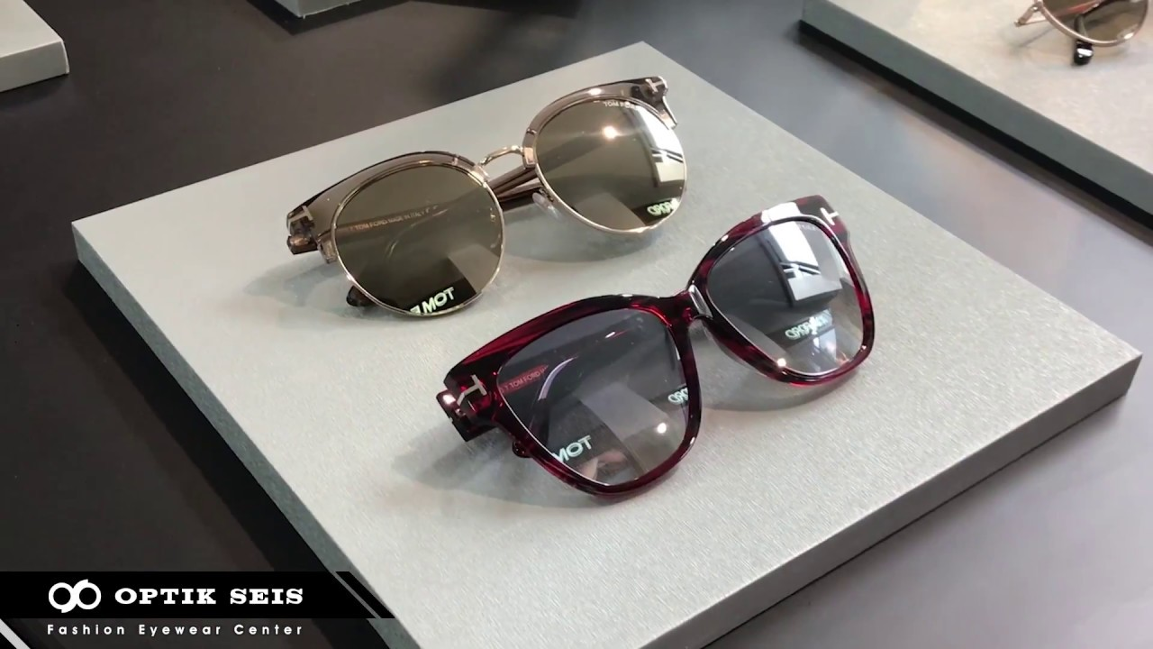 074d80167977 TOM FORD Eyewear 2018 Collection Private Viewing - YouTube