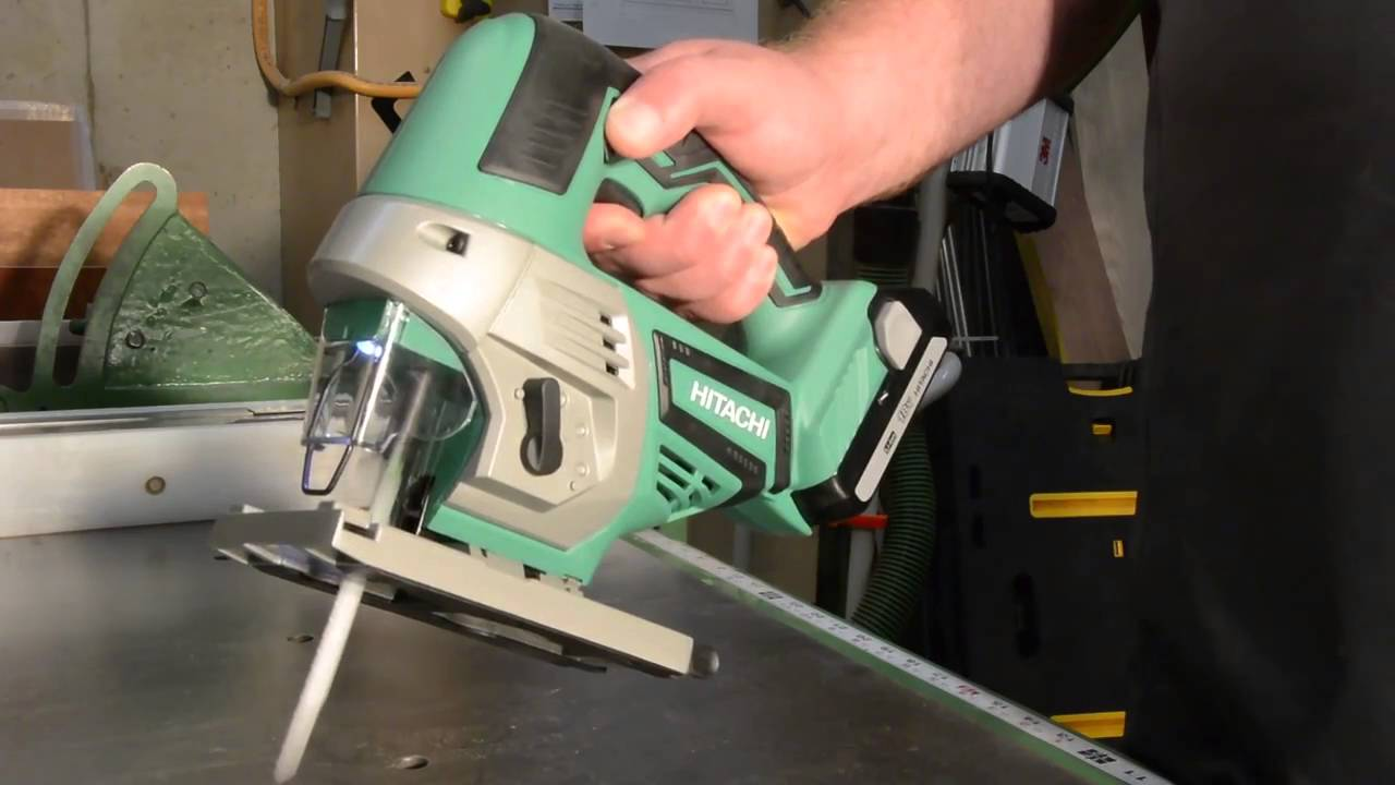 Hitachi 18v cordless jig saw cj18dglp4 youtube hitachi 18v cordless jig saw cj18dglp4 greentooth Choice Image