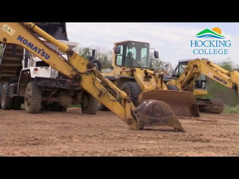 Heavy Equipment Management Degree at Hocking College