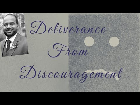 Be Delivered From Discouragement || Godwin Sequeira || The King's Tabernacle