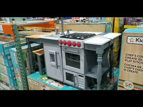 Costco! KidsKraft Chef's Cook & Create Island Kitchen! $128!!!