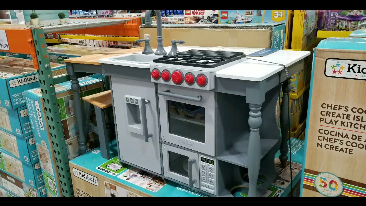 Costco! KidsKraft Chef's Cook & Create Island Kitchen