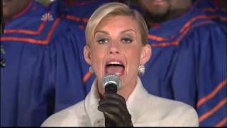 Faith Hill - Joy To The World - Christmas in Rockefeller Center 2008