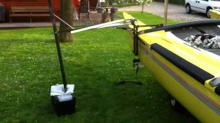 Hydroil catamaran hobie 18