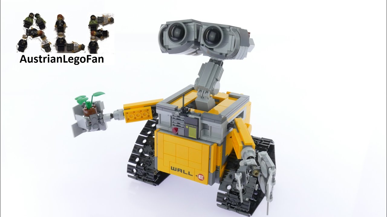Lego Ideas 21303 Wall E Lego Speed Build Review Youtube