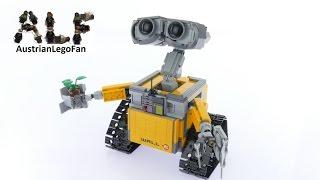 Lego Ideas 21303 Wall•E - Lego Speed Build Review