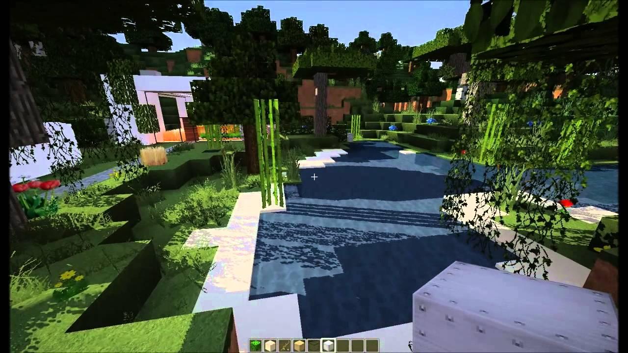 Minecraft Maison moderne ! by JakeCrafts53 - YouTube
