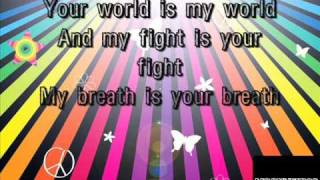 Justin Bieber - One time -My Heart Edition- KARAOKE WITH LYRICS.