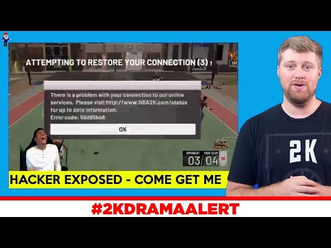 HACKER CHALLENGES NBA 2K TO FIND & BAN HIM, NADEXE SHOWS WHY HIS IQ IS UNDER 25!