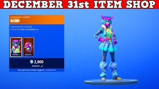 Fortnite Item Shop (December 31st) | *NEW* DJ BOP Skin!